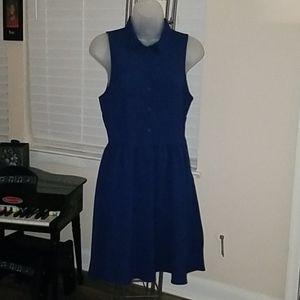 Navy Blue H& M Dress